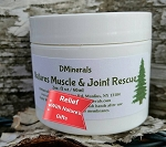 Natures Muscle & Joint Rescue Creme 2oz.