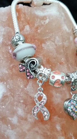 Breast Cancer Bracelet 12 Pieces Plus Bracelet
